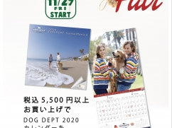 【11/29】DOG DEPT「Christmas Fair」